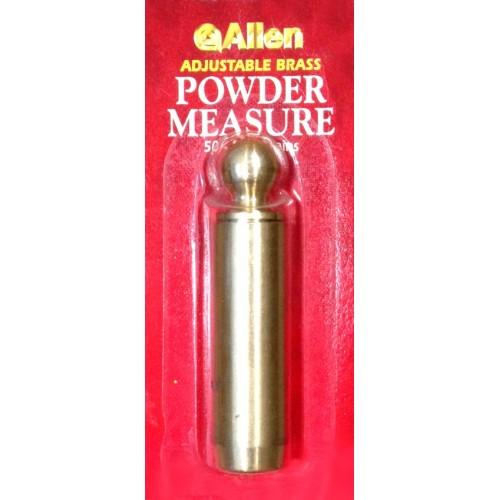 Allen Medidor ajustable de pólvora negra 50-120 grains
