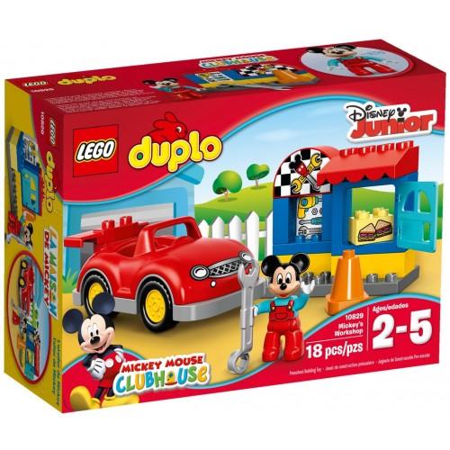 10829 El taller de Mickey