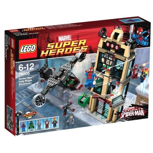 76005 Super Heroes Marvel Spider-Man: Encuentro en el Daily Bugle