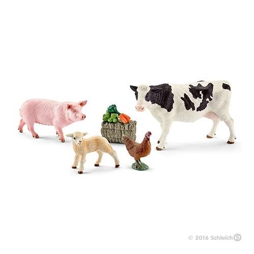 41424 Set animales de granja