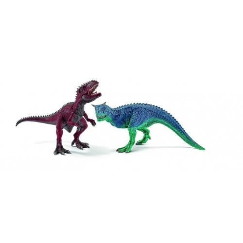 42215 Carnotaurus y Giganotosaurus