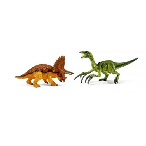 42217 Triceratops y Therizinosaurus