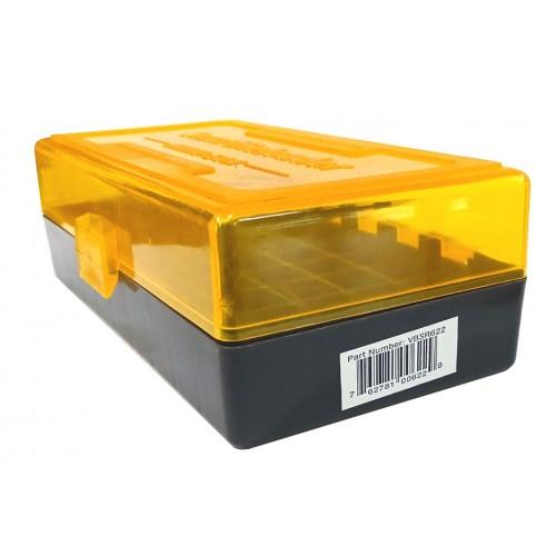 622 Caja porta munición 44Spc., 41Mg., ... 100 unidades