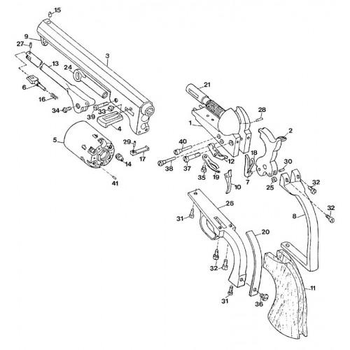 Uberti Revólver Colt 1851 repuestos