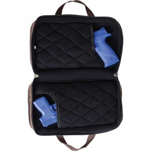 Allen Attaché bolsa compacta para 2 pistolas / revólveres