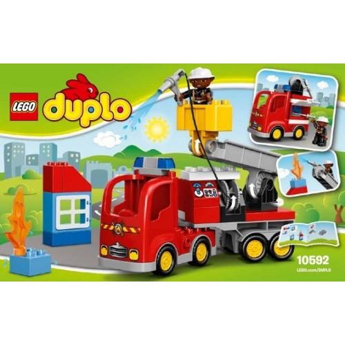Lego El camión de bomberos