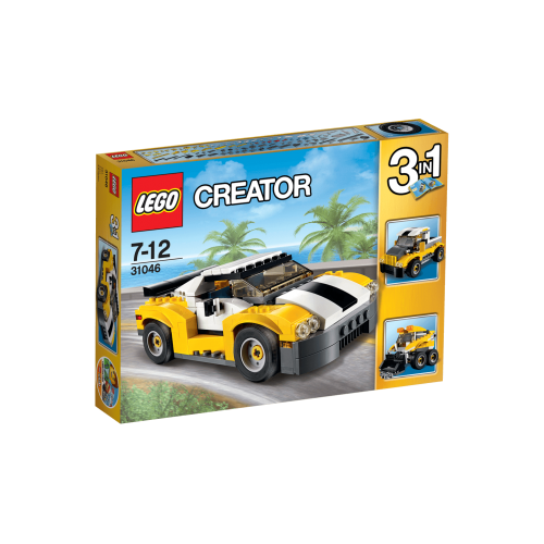 Lego Deportivo amarillo 3 en 1