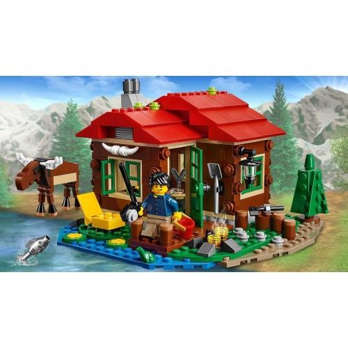 Lego Cabaña junto al lago