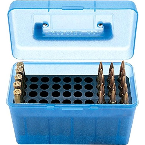MTM Deluxe 50 round Ammo Case RS