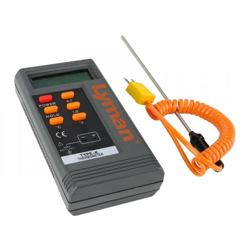 Lyman Termómetro Digital para coladas de plomo