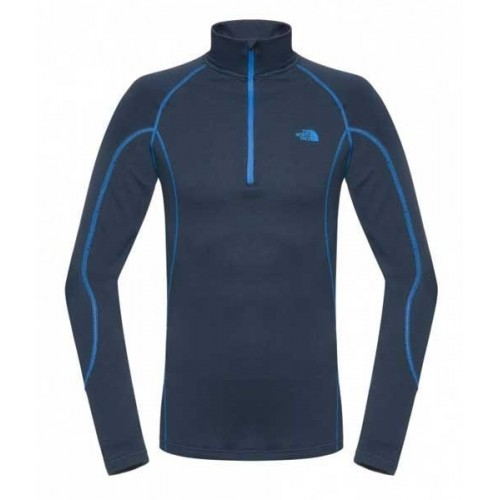 The North Face Warm Zip Blue & Black