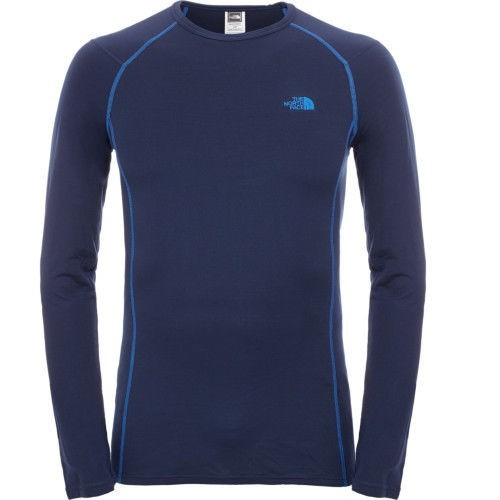 The North Face Warm Crew Neck Blue & Black