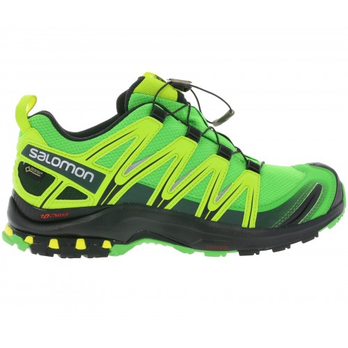 Salomon XA Pro 3D Gore-tex Green / Yellow