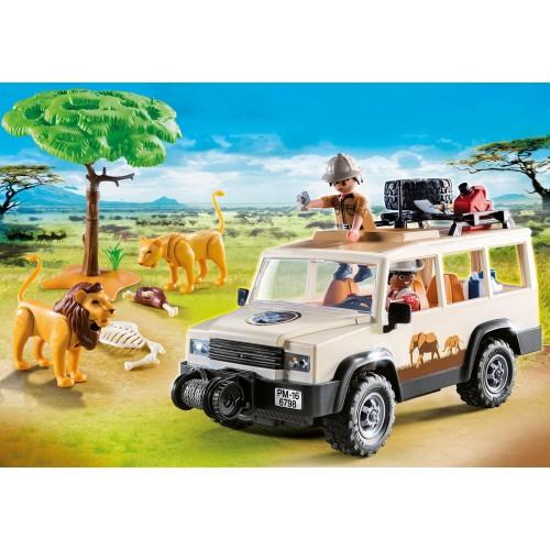 6798 Vehículo Safari con leones
