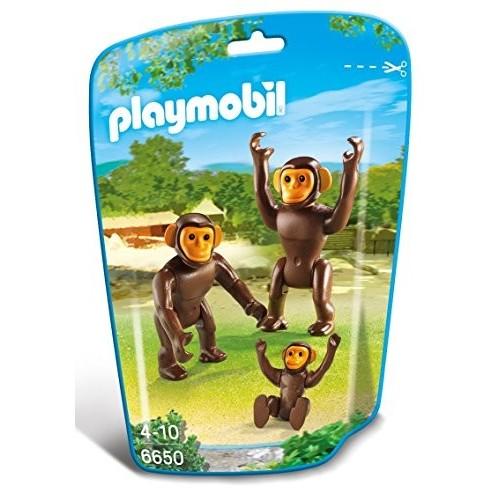 6650 Familia de chimpancés