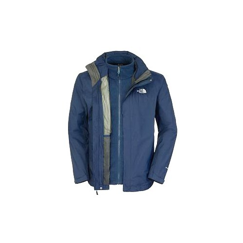The North Face Evolve II Triclimate Jacket 3 en 1 Cosmic Blue