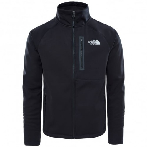 The North Face Can Soft Shell Jacket Black