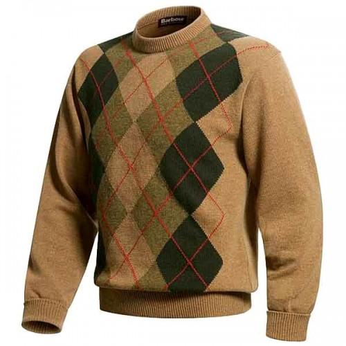 Barbour Jersey de lana Cashemere talla XL Camel