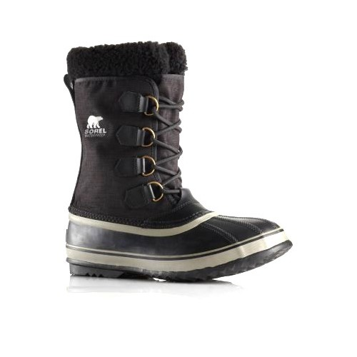 Sorel 1964 Pac Nylon Black