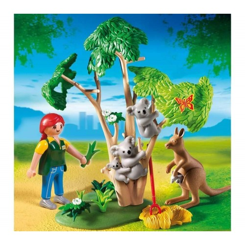 4854 Cuidadora de koalas y canguro