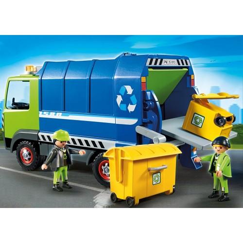 6110 Camión de reciclaje