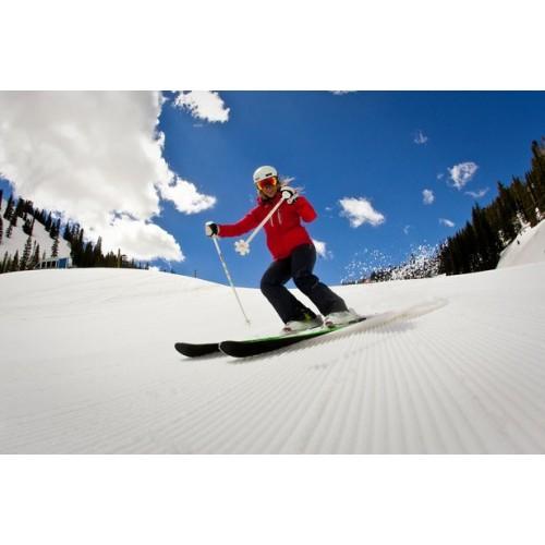 Columbia Killington Resort Black pantalón de mujer de nieve