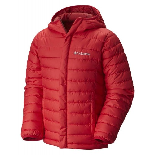 Columbia Powder Lite Puffer Jacket Red Talla 6 años