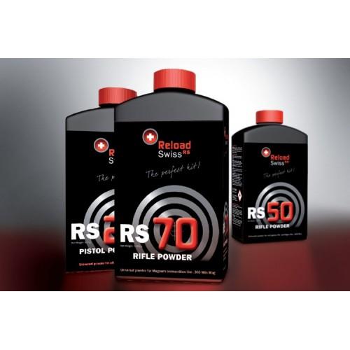 Reload Swiss RS70 Pólvora Arma Larga