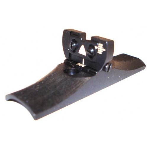 Alza con rampa para rifle