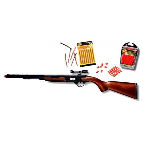 Edison Giocatteli Devon Rifle: Disparo real + ¡ detonación !