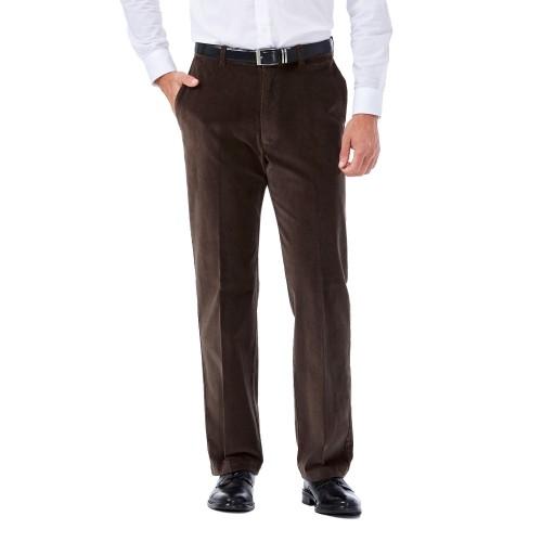 Timberland Pantalón de pana con pinzas talla M marrón oscuro