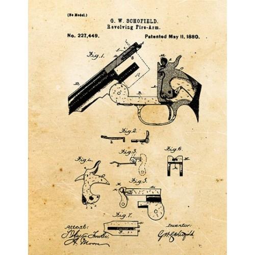 Uberti Schofield 1875 piezas de repuesto