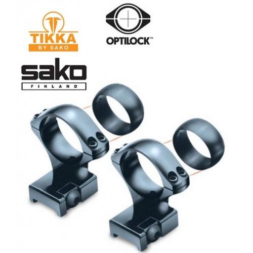 Anillas y Bases para rifles Tikka / Sako