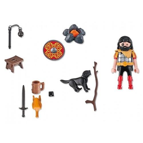 4769 Guerrero Bárbaro con perro