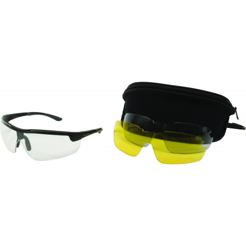 Ion Ballistic Shooting Glasses con lentes intercambiables