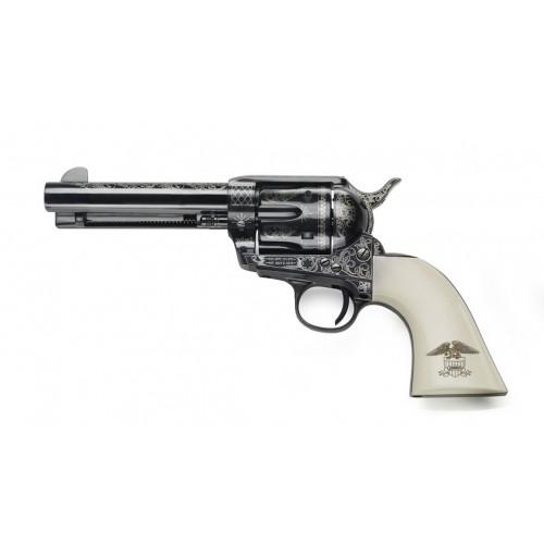 "Pietta 1873 SA Liberty Polymer Eagle 45 Long Colt 4 3/4"" Libro de Coleccionista"