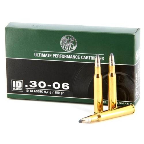 Munición RWS 30-06 ID Classic 150 gr