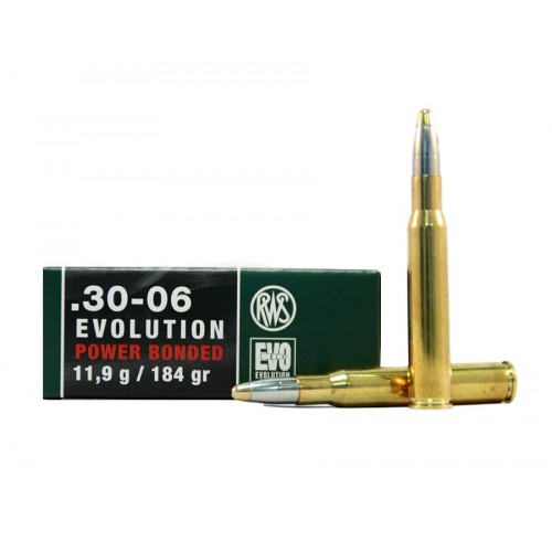 Munición RWS 30-06 EVO (Evolution) 184 gr