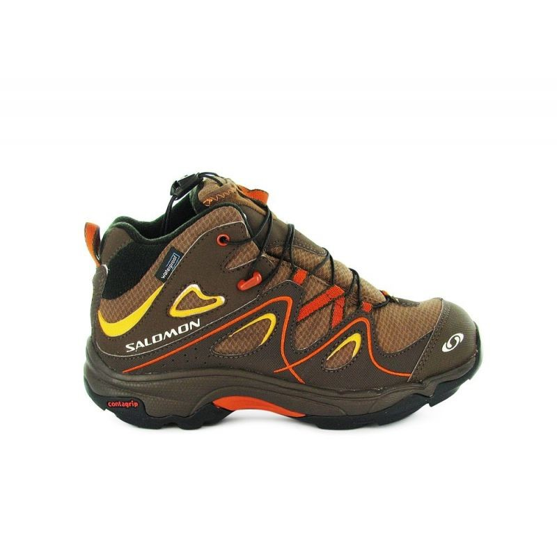 a79a5736 Botas Salomon chico/chica Trax Mid Brown Impermeables