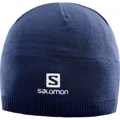 Salomon Gorro Invierno Beanie Dress Blue